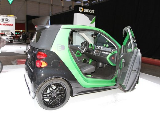 Smart ForTwo Brabus Electric Drive - Foto 2 di 17