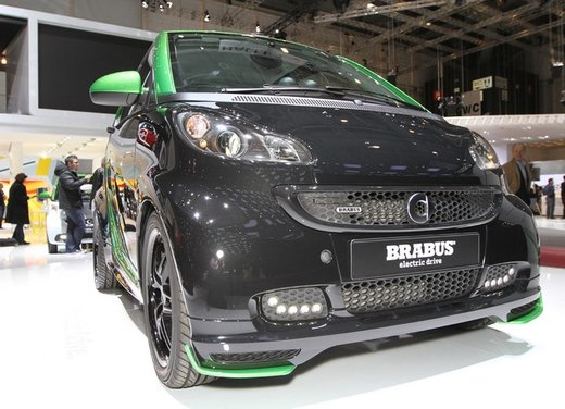 Smart ForTwo Brabus Electric Drive - Foto 3 di 17