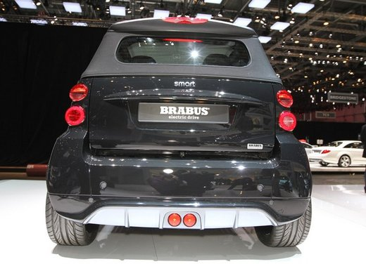 Smart ForTwo Brabus Electric Drive - Foto 7 di 17