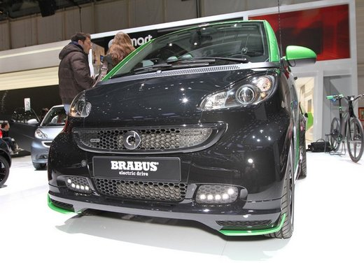 Smart ForTwo Brabus Electric Drive - Foto 9 di 17