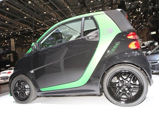 Smart ForTwo Brabus Electric Drive - Foto 11 di 17