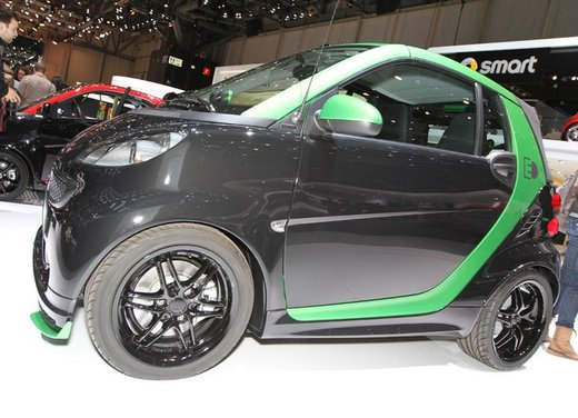 Smart ForTwo Brabus Electric Drive - Foto 13 di 17