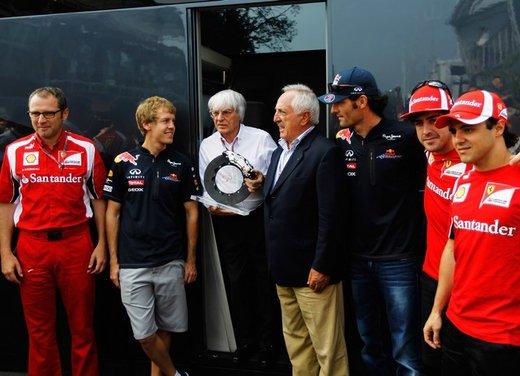Brembo frena le monoposto di Formula 1 nel mondiale 2012 - Foto 4 di 12