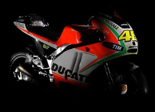 Ducati GP12 di Valentino Rossi svelata lunedì 19 marzo - Foto 7 di 21