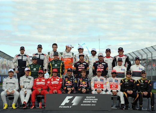 Formula1: classifica costruttori 2012 - Foto 1 di 74