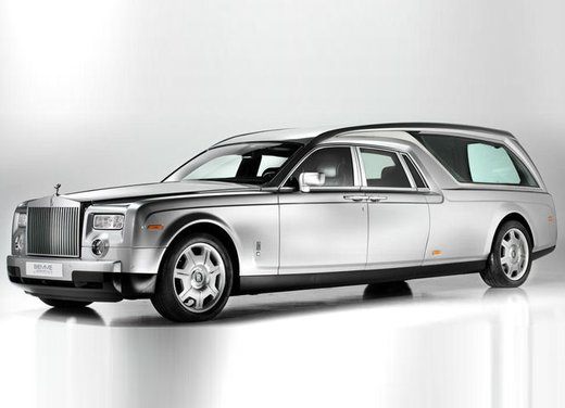 Rolls-Royce Phantom carro funebre
