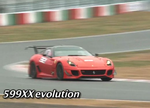 Ferrari 599XX Evolution, il debutto in pista - Foto 13 di 25
