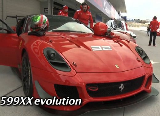 Ferrari 599XX Evolution, il debutto in pista - Foto 2 di 25