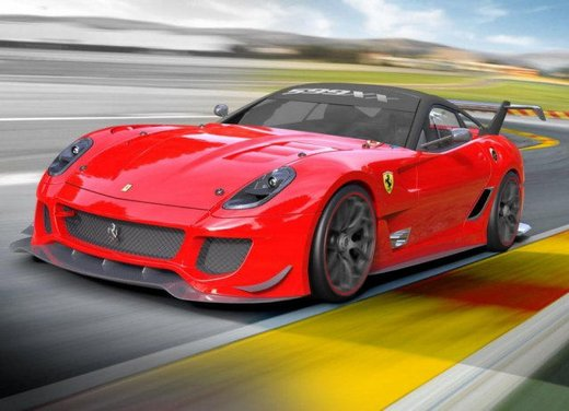 Ferrari 599XX Evolution, il debutto in pista - Foto 23 di 25