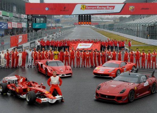 Ferrari 599XX Evolution, il debutto in pista - Foto 20 di 25