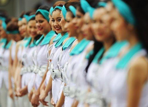 F1 GP Malesia 2012: le ragazze in griglia di partenza - Foto 8 di 24