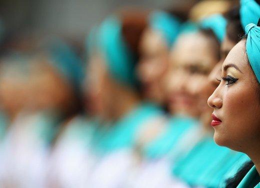 F1 GP Malesia 2012: le ragazze in griglia di partenza - Foto 10 di 24