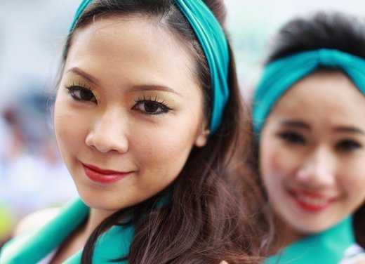 F1 GP Malesia 2012: le ragazze in griglia di partenza - Foto 11 di 24