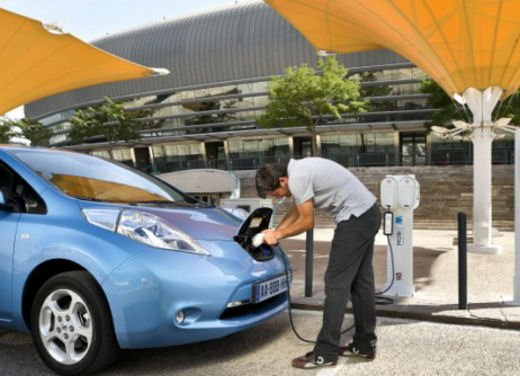 Nissan Leaf di servizio nelle aree di sosta giapponesi - Foto 25 di 28