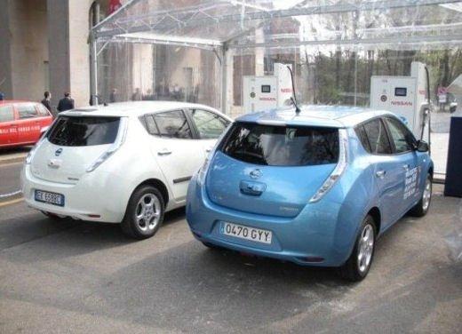 Nissan Leaf Autonomous Drive si guida da sola - Foto 27 di 28