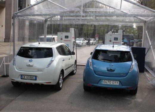 Nissan Leaf Autonomous Drive si guida da sola - Foto 28 di 28