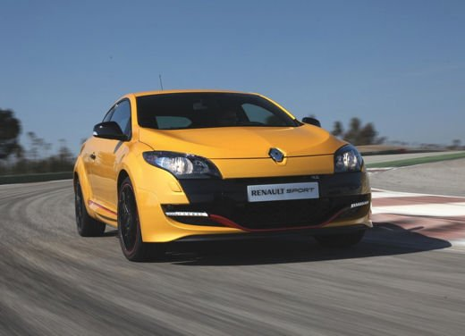Nuova gamma Renault Mégane provata su strada a Siviglia