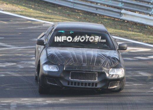 Nuove foto spia della Maserati Quattroporte durante i collaudi - Foto 3 di 18