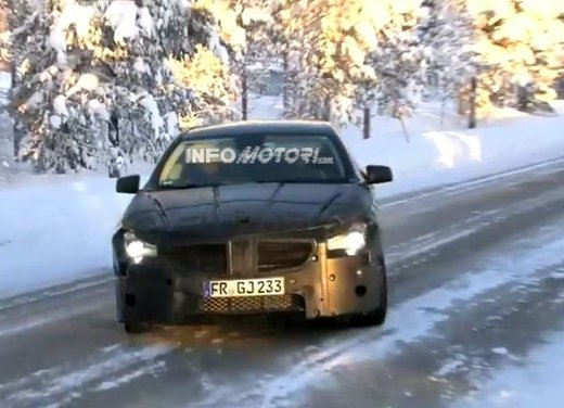 Mercedes CLC video spia dei test al Circolo Polare artico - Foto 7 di 8