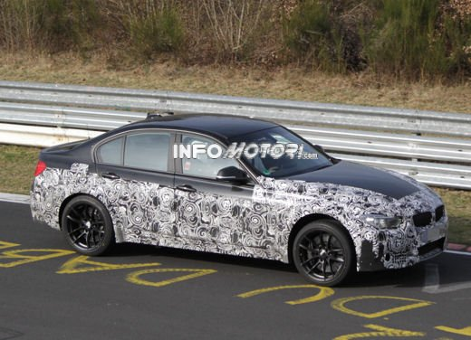 BMW M3 video spia al Nürburgring