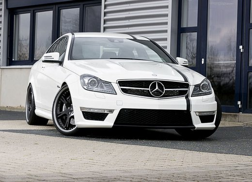 Mercedes C63 AMG tuning by Wheelsandmore - Foto 5 di 12