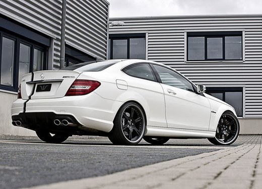 Mercedes C63 AMG tuning by Wheelsandmore - Foto 11 di 12
