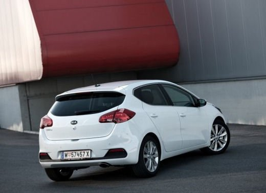 Kia cee'd, prestazioni e consumi della gamma a benzina - Foto 5 di 21