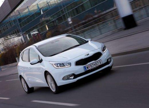 Kia cee'd, prestazioni e consumi della gamma a benzina - Foto 7 di 21