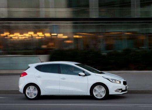 Kia cee'd, prestazioni e consumi della gamma a benzina - Foto 8 di 21