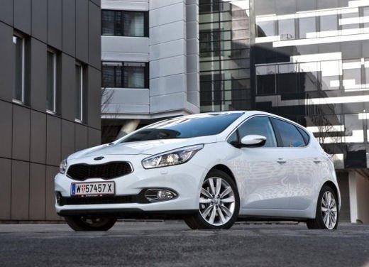 Kia cee'd, prestazioni e consumi della gamma a benzina - Foto 14 di 21