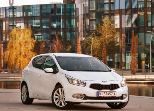 Kia cee'd, prestazioni e consumi della gamma a benzina - Foto 15 di 21