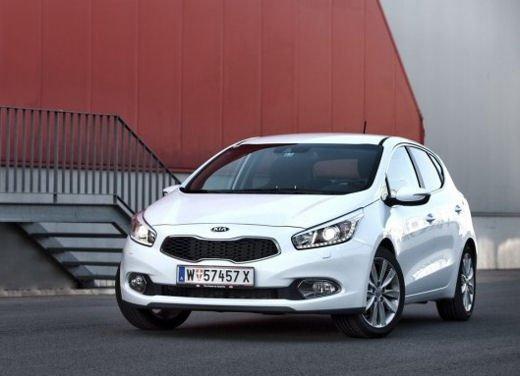 Kia cee'd, prestazioni e consumi della gamma a benzina - Foto 16 di 21