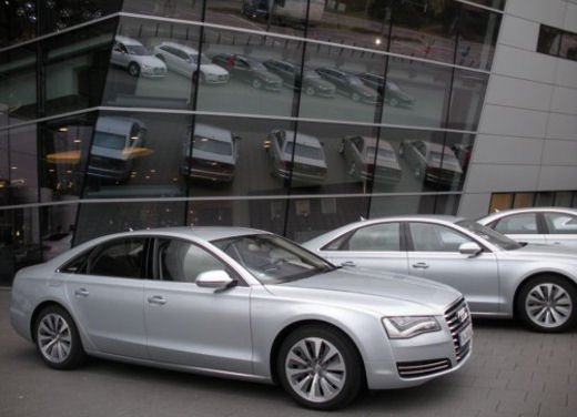 Audi A8 Hybrid provata su strada l'ammiraglia ecologica - Foto 9 di 10