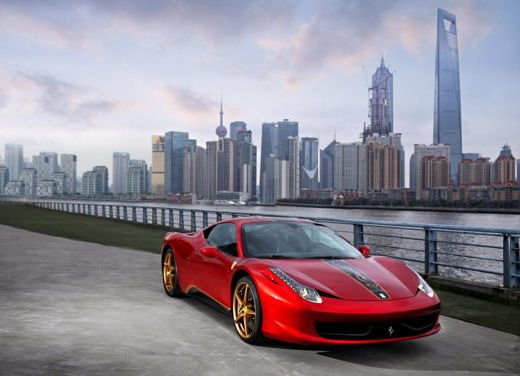 Ferrari 458 Italia edizione speciale per il 20° anniversario in Cina - Foto 1 di 8