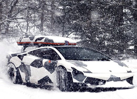 Audi R8 Razor GTR Winter Monster di Jon Olsson - Foto 10 di 12