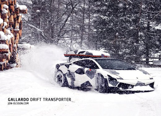 Audi R8 Razor GTR Winter Monster di Jon Olsson - Foto 11 di 12
