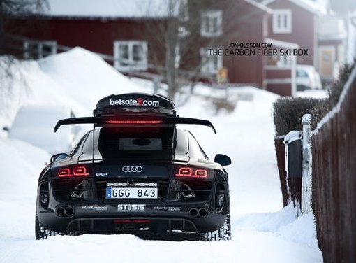 Audi R8 Razor GTR Winter Monster di Jon Olsson - Foto 3 di 12