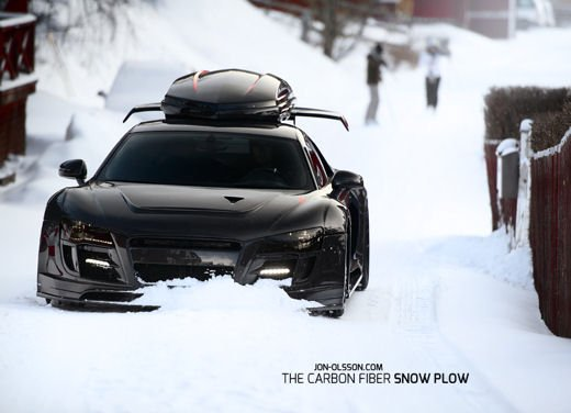 Audi R8 Razor GTR Winter Monster di Jon Olsson - Foto 2 di 12