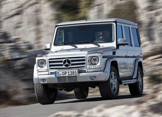 Anteprima della nuova Mercedes Classe G al 4x4FEST - Foto 7 di 9