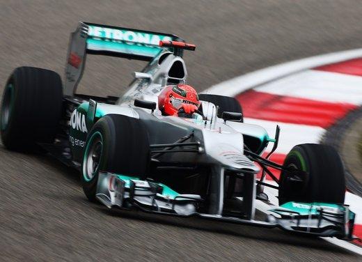 F1 GP Cina 2012: Schumacher primo nella seconda sessione di prove libere - Foto 1 di 32