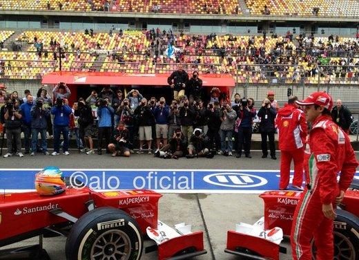 Alonso e Massa commentano le prove libere del GP di Cina - Foto 5 di 32