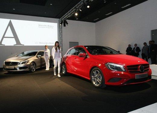 Mercedes Classe A debutta in Italia al Fuorisalone di Milano - Foto 3 di 32