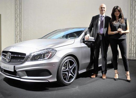 Mercedes Classe A debutta in Italia al Fuorisalone di Milano - Foto 11 di 32