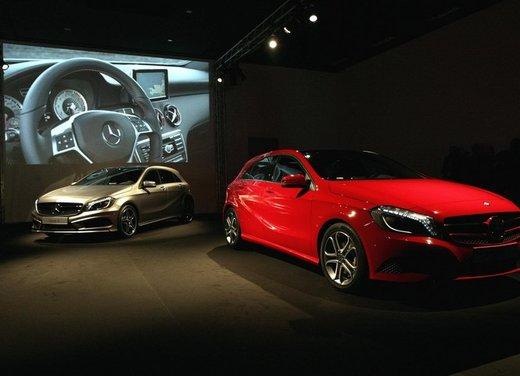 Mercedes Classe A debutta in Italia al Fuorisalone di Milano - Foto 1 di 32