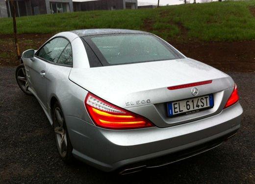 Mercedes SL 500 test drive alle porte di Roma - Foto 13 di 13