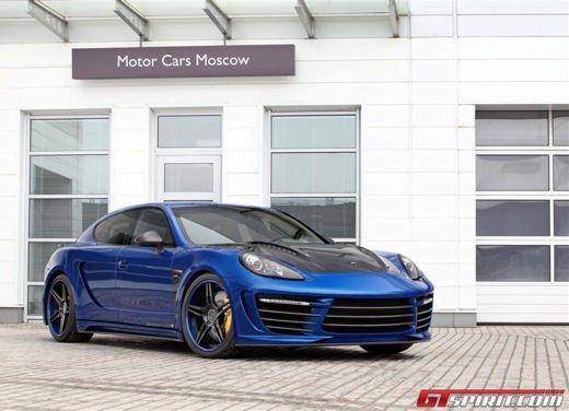 Porsche Panamera Stingray GTR by Topcar, un tuning estremo dalla Russia - Foto 2 di 14