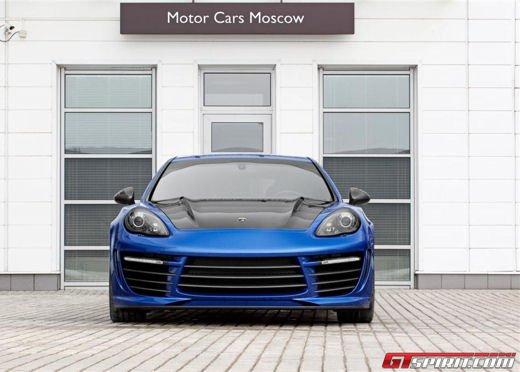 Porsche Panamera Stingray GTR by Topcar, un tuning estremo dalla Russia - Foto 7 di 14