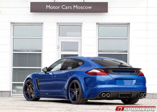 Porsche Panamera Stingray GTR by Topcar, un tuning estremo dalla Russia - Foto 8 di 14