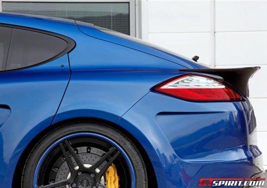 Porsche Panamera Stingray GTR by Topcar, un tuning estremo dalla Russia - Foto 11 di 14