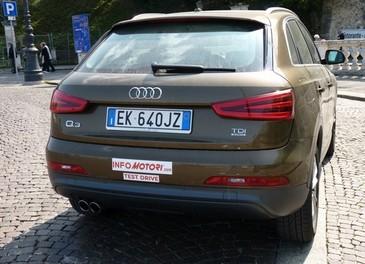 Audi Q3 provata su strada la versione 2.0 TDI da 177 CV - Foto 35 di 48